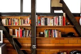 本棚,作り付け